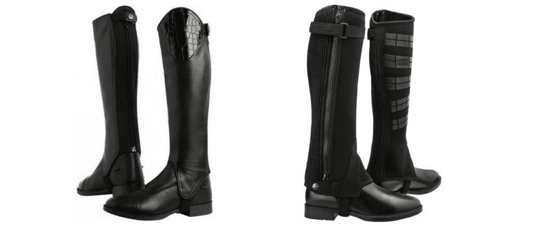 What's the difference between gaiters & chaps?