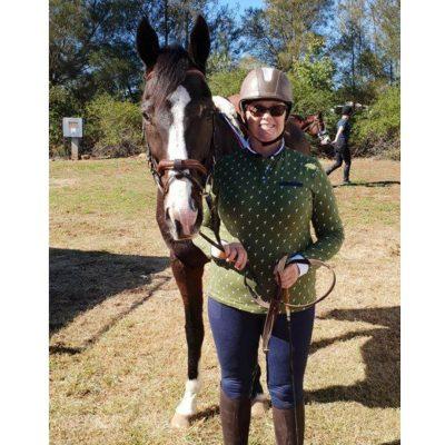 olive equestrian shirt
